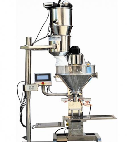 粉体自动混料上料系统